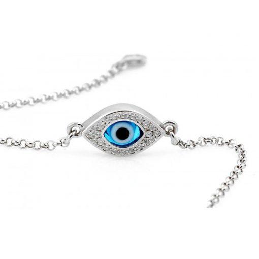 Celebrity Evil Eye Ankle Bracelet