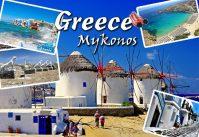 Magnet - Greece Mykonos