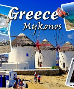 Magnet - Greece Mykonos