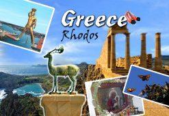 Magnet - Greece Rhodos