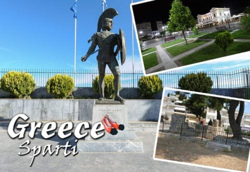 Magnet - Greece Sparti
