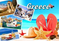Magnet - Greece Summer