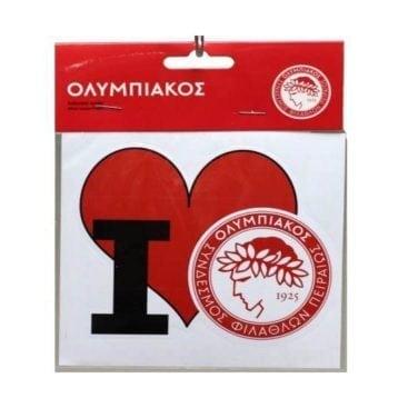 I Love Olympiakos Sticker