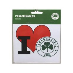 I Love Panathinaikos Sticker