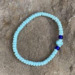 light turquoise komboskini