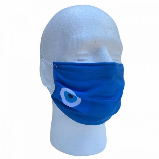 Blue-Face-Mask-with-Good-Luck-Eye