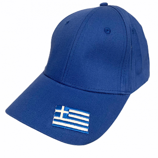 Greek Flag Hat Blue