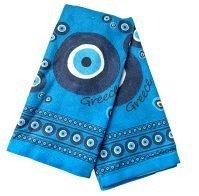 Blue mati dishcloth