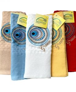 embroidered mati towels