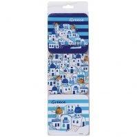 cycladic-village coasters