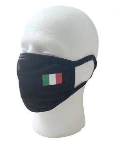 Italian Flag Face Mask