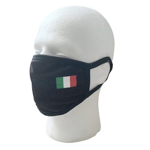 Italian Flag Face Mask