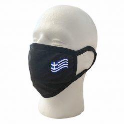 Wavy Greek Flag Mask