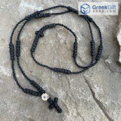 Komboskini Metallic Cross Rosary
